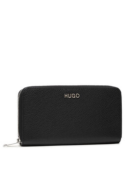 Hugo Hugo Velká dámská peněženka Victoria Ziparound 50447480 Černá