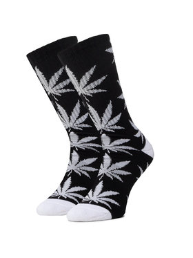 HUF HUF Дълги чорапи unisex Essentials Plantlife Sock SK00298 r.OS Черен
