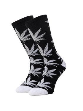 HUF HUF Ilgos Unisex Kojinės Essentials Plantlife Sock SK00298 r.OS Juoda