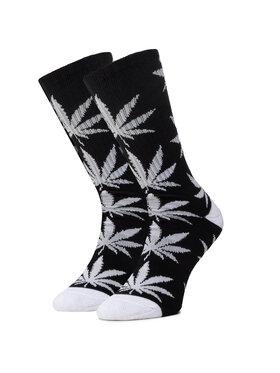 HUF HUF Șosete Înalte Unisex Essentials Plantlife Sock SK00298 r.OS Negru