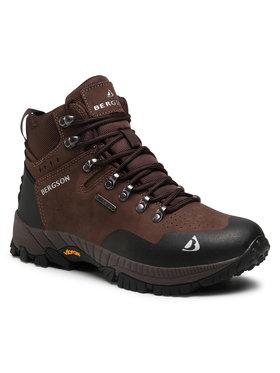 Bergson Bergson Παπούτσια πεζοπορίας Semien Mid Stx Καφέ