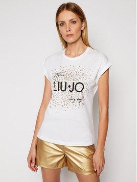 Liu Jo Liu Jo T-shirt WA1327 J0094 Blanc Regular Fit