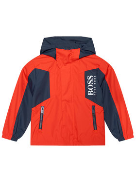 Boss Boss Prijelazna jakna J26434 D Crvena Regular Fit