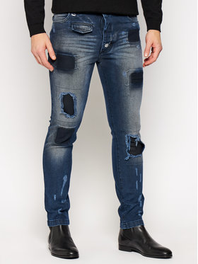 Rage Age Rage Age Jeans Slim Fit Proton 1 Blu scuro Slim Fit