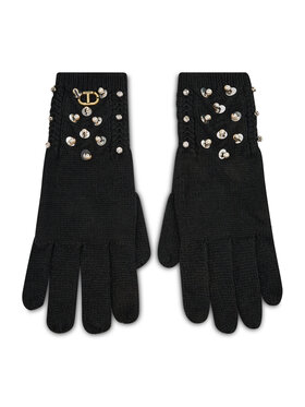 TWINSET TWINSET Дамски ръкавици Guanti 212TO5052 Черен
