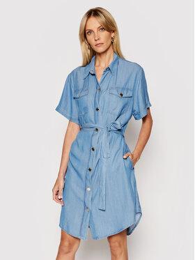 Pinko Pinko Robe en jean Chipo 1J10MP Y6X4 Bleu Regular Fit
