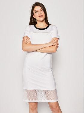 Liu Jo Sport Liu Jo Sport Kleid für den Alltag TA0069 J7898 Weiß Regular Fit