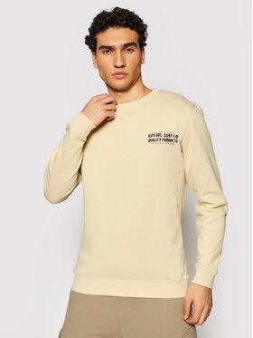 Rip Curl Rip Curl Sweatshirt Garage CFEDW9 Beige Regular Fit