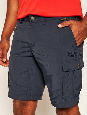Jack Wolfskin Jack Wolfskin Pantaloni scurți sport Canyon Cargo 1504201 Bleumarin Regular Fit