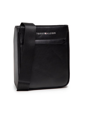 Tommy Hilfiger Tommy Hilfiger Мъжка чантичка Th Metro Mini Crossover AM0AM07545 Черен