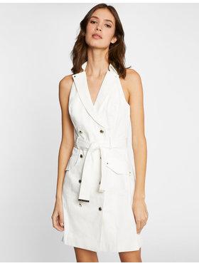 Morgan Morgan Kleid für den Alltag 211-RLYDIE Weiß Regular Fit