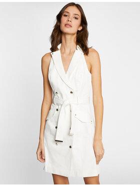 Morgan Morgan Sukienka codzienna 211-RLYDIE Biały Regular Fit