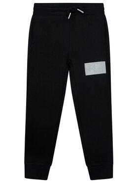 Calvin Klein Jeans Calvin Klein Jeans Melegítő alsó Monogram Reflective IB0IB00671 Fekete Regular Fit