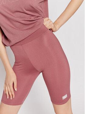 Sprandi Sprandi Pantaloni scurți sport SS21-SHD006 Roz Slim Fit