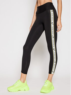Deha Deha Leggings Side Logo B44015 Noir Slim Fit