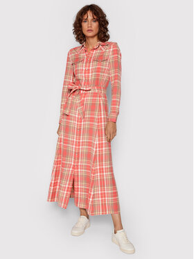 Polo Ralph Lauren Polo Ralph Lauren Hemdkleid 211843096001 Rosa Regular Fit