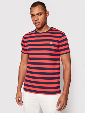 Polo Ralph Lauren Polo Ralph Lauren T-Shirt Classics 710823560002 Έγχρωμο Custom Slim Fit