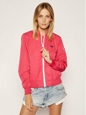 Tommy Jeans Tommy Jeans Bomber dzseki Logo DW0DW08020 Rózsaszín Regular Fit