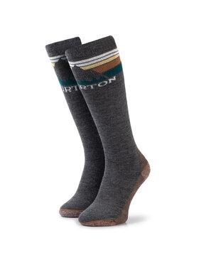 Burton Burton Hohe Damensocken Emblem Midweight Sock 10069105001 Grau