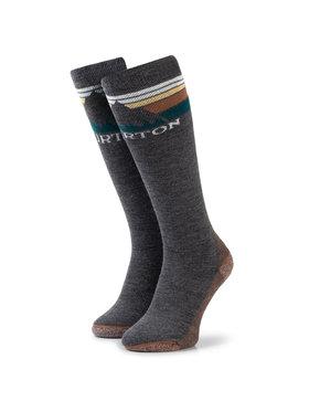 Burton Burton Ilgos Moteriškos Kojinės Emblem Midweight Sock 10069105001 Pilka