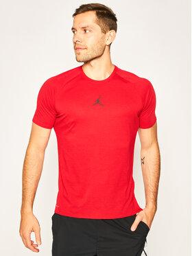 Nike Nike Techniniai marškinėliai Air Jordan Dry 23 Alpha 889713 Raudona Standard Fit