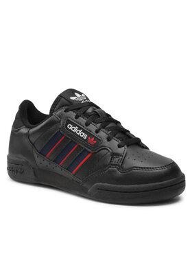 adidas adidas Schuhe Continental 80 Stripes J FY2698 Schwarz