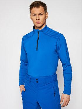 Descente Descente Funkčné tričko Piccard DWMQGB23 Modrá Regular Fit