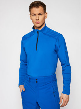 Descente Descente Tricou tehnic Piccard DWMQGB23 Albastru Regular Fit