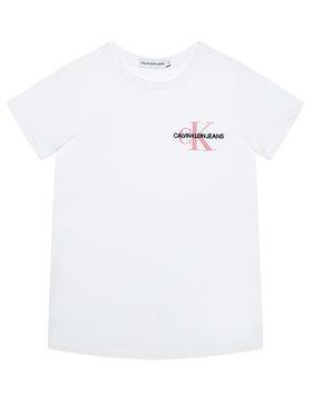 Calvin Klein Jeans Calvin Klein Jeans Póló Chest Monogram IG0IG00573 Fehér Regular Fit