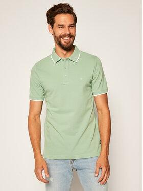 Calvin Klein Calvin Klein Polo Tipping K10K104915 Zielony Slim Fit