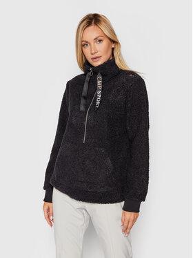 CMP CMP Polár kabát 31P4606 Fekete Regular Fit