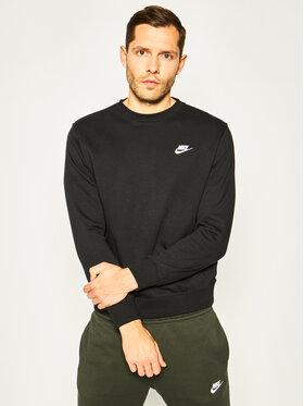 Nike Nike Bluză Nsw Club Crv BV2666 Negru Standard Fit