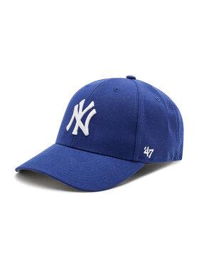 47 Brand 47 Brand Kepurė su snapeliu New York Yankees B-MVP17WBV-DL Tamsiai mėlyna