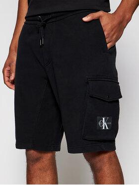 Calvin Klein Jeans Calvin Klein Jeans Pantaloni scurți sport J30J314676 Negru Regular Fit