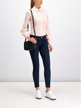 Trussardi Jeans Trussardi Jeans Koszula 56C00189 Różowy Slim Fit