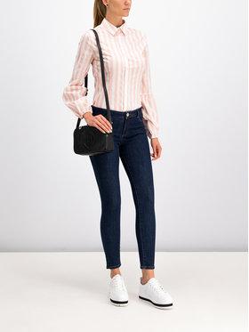 Trussardi Jeans Trussardi Jeans Marškiniai 56C00189 Rožinė Slim Fit