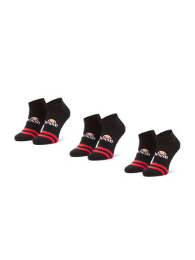 Ellesse Ellesse Súprava 3 párov nízkych členkových ponožiek Melna SAAC0876 Čierna