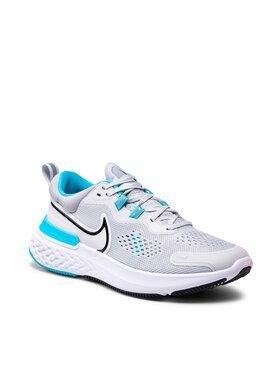 Nike Nike Boty React Miler 2 CW7121 003 Černá