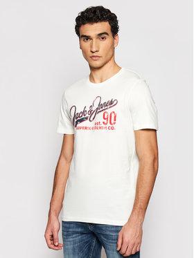 Jack&Jones Jack&Jones T-shirt Logo 12180867 Bijela Slim Fit