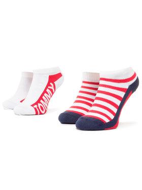 TOMMY HILFIGER TOMMY HILFIGER Sada 2 párů nízkých ponožek unisex 320409001 Barevná