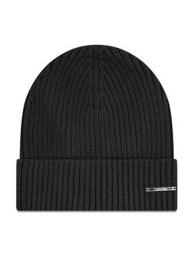 Calvin Klein Calvin Klein Kepurė Basic Rib Beanie K50K507496 Juoda