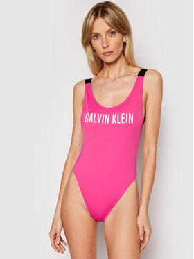 Calvin Klein Swimwear Calvin Klein Swimwear Bikiny Scoop Back KW0KW01235 Růžová