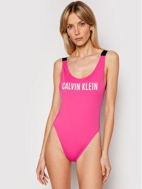 Calvin Klein Swimwear Calvin Klein Swimwear Kupaći kostim Scoop Back KW0KW01235 Ružičasta