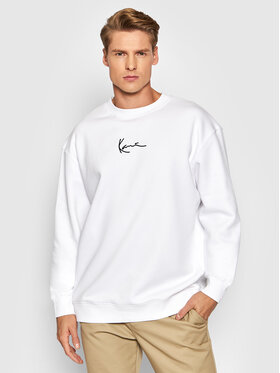 Karl Kani Karl Kani Bluza Small Signature 6020164 Biały Regular Fit