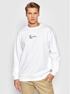 Karl Kani Karl Kani Суитшърт Small Signature 6020164 Бял Regular Fit