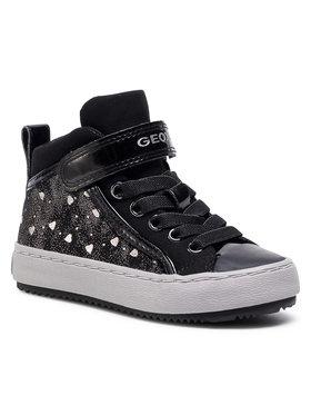 Geox Geox Sneakers J Kalispera G.I J744GI 0DHAS C9244 M Μαύρο