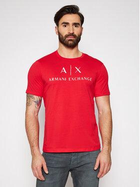 Armani Exchange Armani Exchange Póló 8NZTCJ Z8H4Z 1400 Piros Slim Fit
