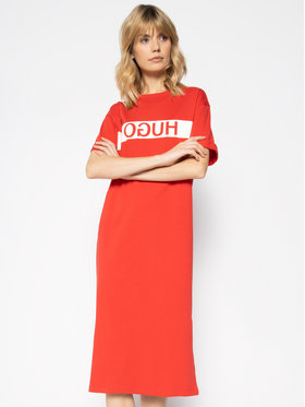Hugo Hugo Hétköznapi ruha Neyleta 50427925 Piros Regular Fit