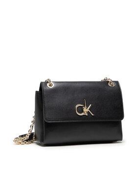 Calvin Klein Calvin Klein Kabelka Re-Lock Ew Conv Flap K60K608174 Čierna