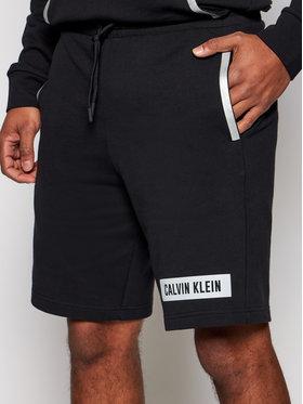 Calvin Klein Performance Calvin Klein Performance Szorty sportowe 00GMS1S856 Czarny Regular Fit